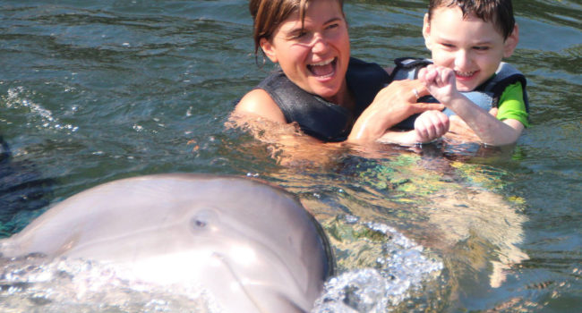 Dolphin Assisted Therapy for Children with special needs